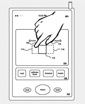 Apple Gets a Limited Pinch-to-Zoom Patent