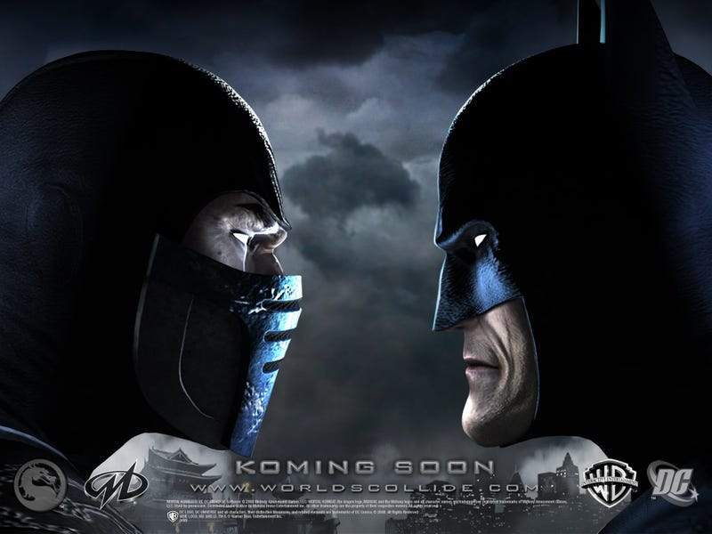Sub-Zero And Batman Beat the Hell Out Of Each Other And Wreck Metropolis