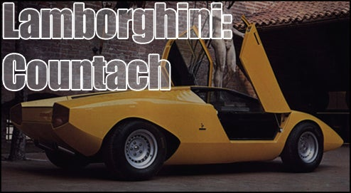 Top Ten Best Wedge Car Designs Of The 60s, 70s and 80s