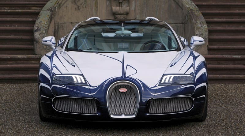 Bugatti Veyron L'Or Blanc: Official Photos