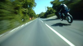 Watch Guy Martin Chase Down A BMW At 200 MPH At The Isle Of Man