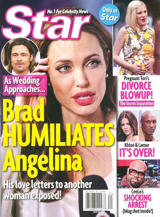 This Week in Tabloids: Angelina Despises Her Enormous Engagement Ring