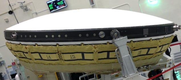 increíble:La NASA hará la primera prueba de un platillo