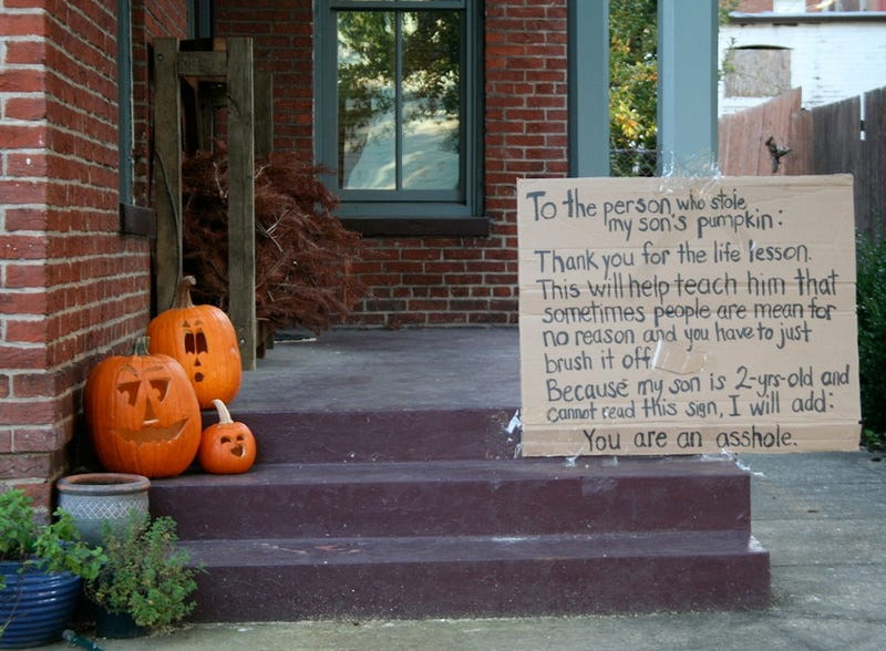 Don't Steal Pumpkins