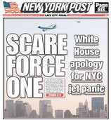 Pick the Best New York Tabloid Flyby Fronts