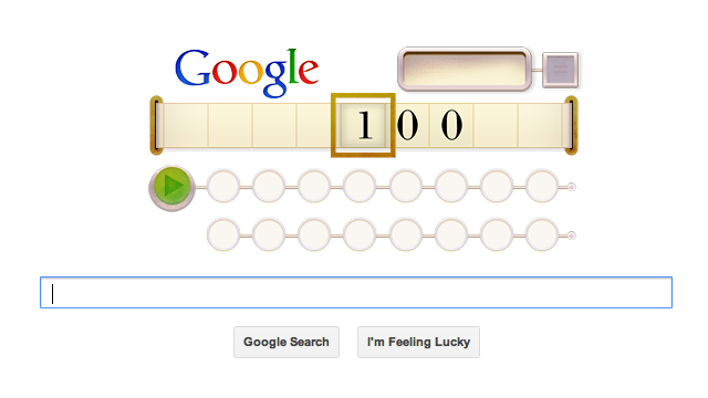 Celebrate Alan Turing's 100th Birthday With a Turing Machine Google Doodle