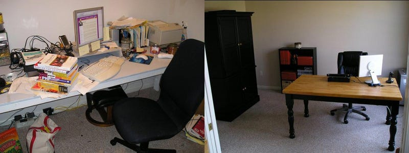 Thrifty Minimalism: The Office Craigslist Built