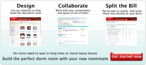 Build the perfect dorm room with Homeslyce