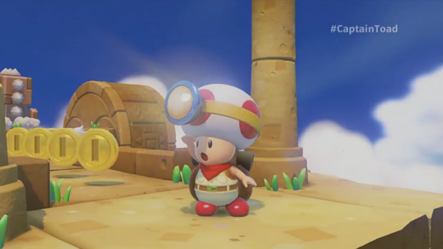 Captain Toad Gets His Own Game