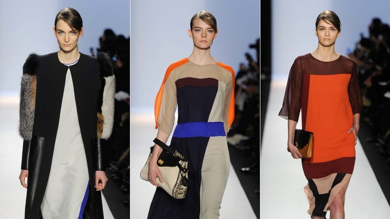 Max Azria Would Like To See You In Color-Blocked Caftans This Fall