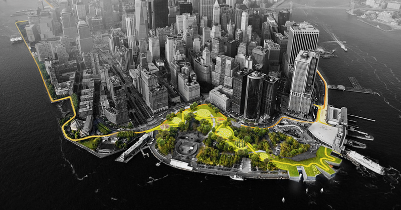 NYC's Elegant Storm-Proofing Proposal Will Probably End Up Being a 'Big Dumb Wall'