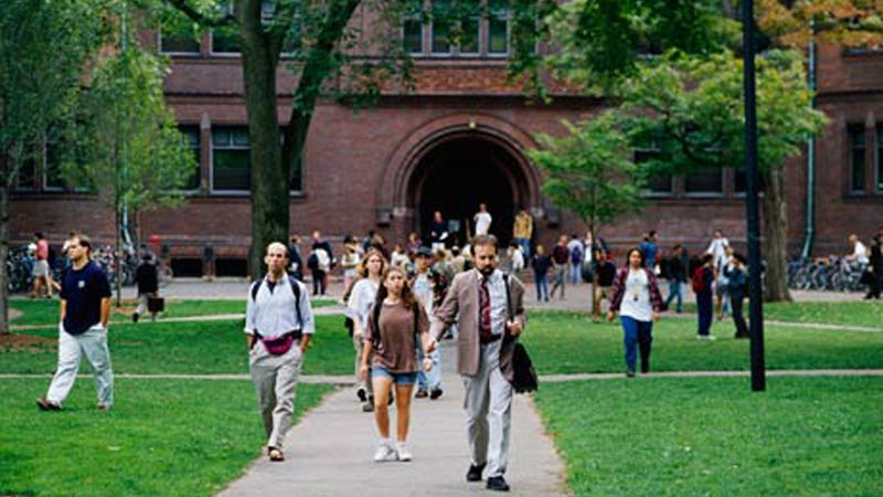 Rich, White Harvard Student Bravely Rallies Against Affirmative Action