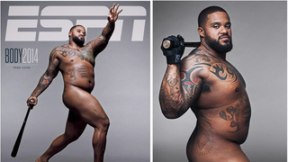 Prince Fielder's Naked <em>ESPN</em> Cover Is Sexy As Hell