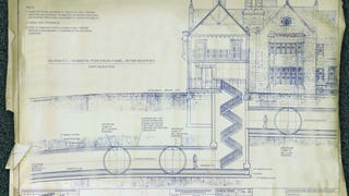 If they found blueprints of secrets tunnels under the Playboy Mansion...