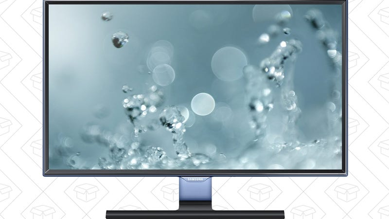 Today's Best Deals: Samsung Monitors, Oral-B Toothbrushes, Illuminated Toilets