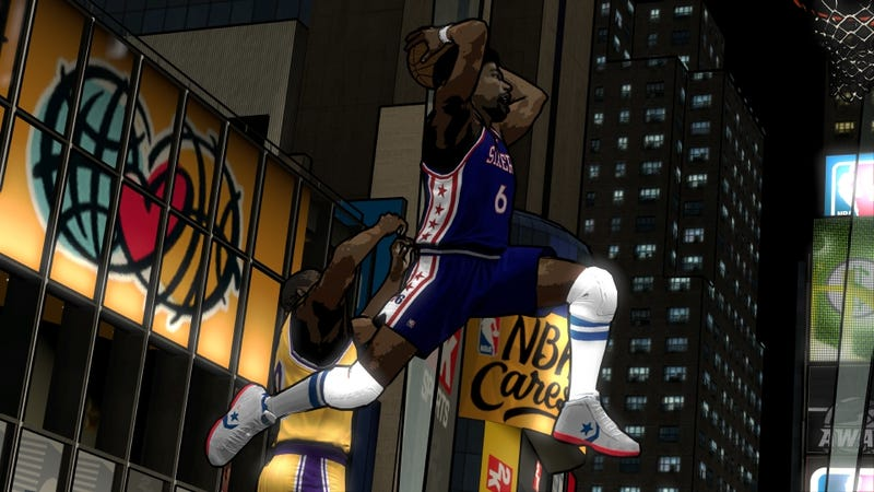 The Cel-Shaded Stylings of NBA 2K12's DLC