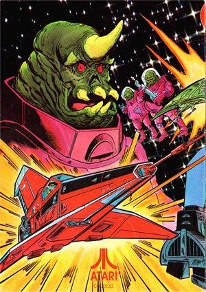 The Atari Games That Became Comic Book Heroes