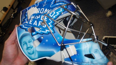 Hockey Agent Gets 10 Percent Of His Client's Goalie Mask
