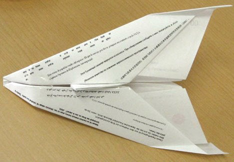 Origami Space Shuttles Unveiled, Kids Around the World Hold Their Breath