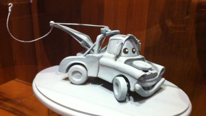 This Is What It's Like Inside Pixar's Secret Car Show