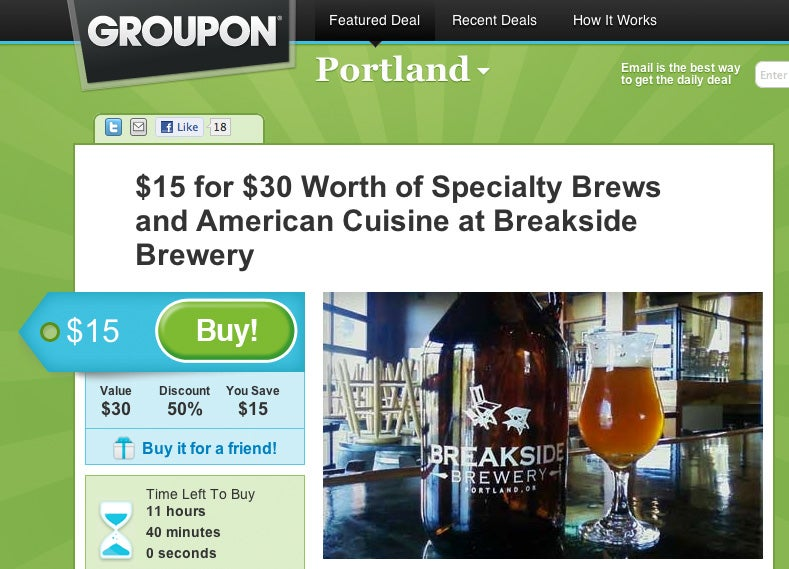 Does Using a Groupon at a Place Where I'm a Regular Make Me a Jerk?