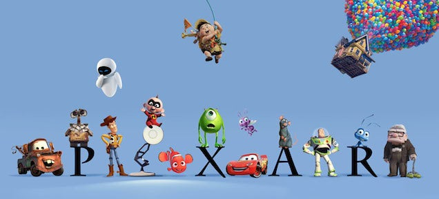 Here's how all the Pixar movies are connected in one universe