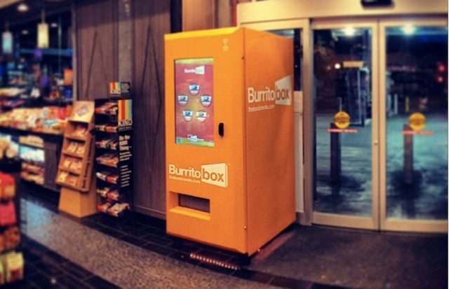 World's First Burrito Vending Machine Is as Bad as You'd Expect