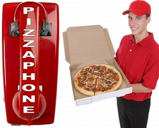 Emergency Pizza-Ordering Phone