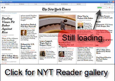 Download of the Day: New York Times Reader (Windows)