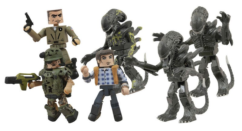The world's first action figure of Paul Reiser, courtesy of Aliens