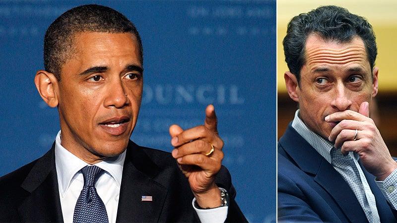 Obama: If I Were Weiner, I'd Resign