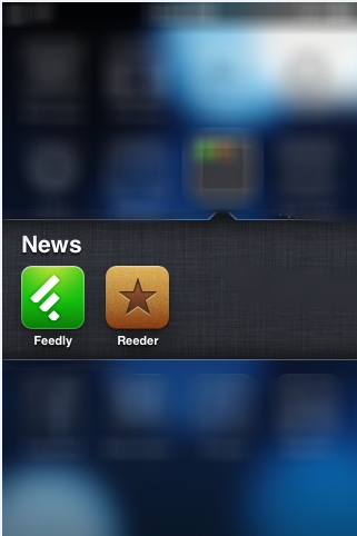 should you use the feedly ios app or the reeder app?