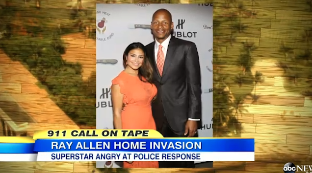 Mom Rats Out Teen Partiers Who Broke Into Ray Allen's Home