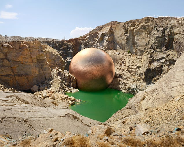 What All the Metal From a Single Mine Would Look Like As a Giant Orb