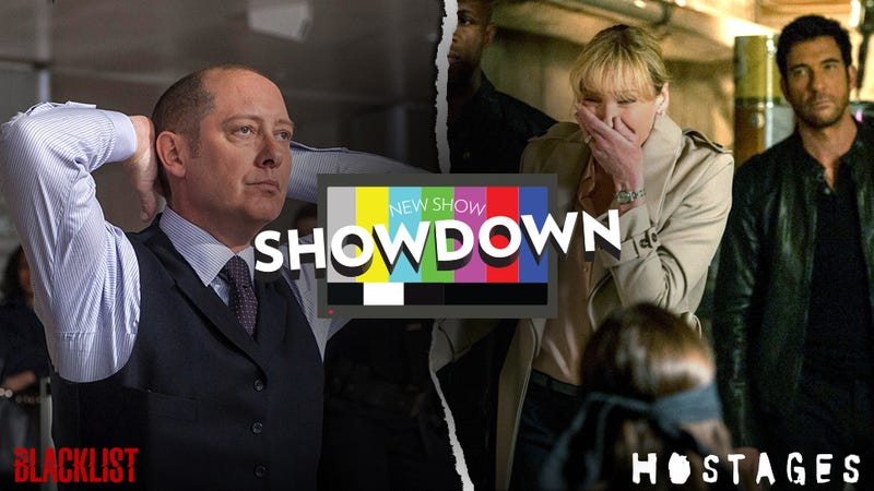 Showdowns: CBS' Hostages vs. NBC's The Blacklist
