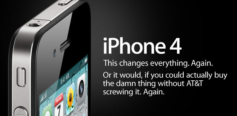 AT&T Suspends iPhone 4 Pre-Ordering After System Collapse