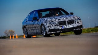 Our friends over at BMWBlog got the chance to drive the 2016 BMW 7-Series prototype, complete with CFRP that drops the weight by nearly 300 pounds and uses gesture controls to answer phone calls and change the stereo volume.