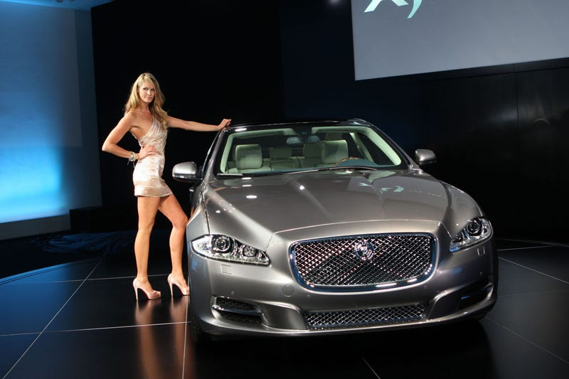 2010 Jaguar XJ Unveiled Live By Elle MacPherson, Some Guy Named Jay