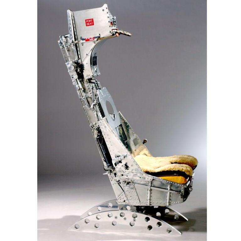 Real Pilot Seat for Real Combat Flight Simulator Pilots