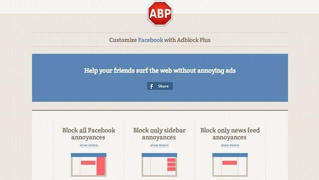 blocking trending articles on facebook