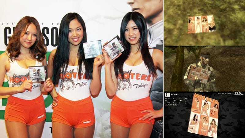 Hooters Girls in Metal Gear Solid