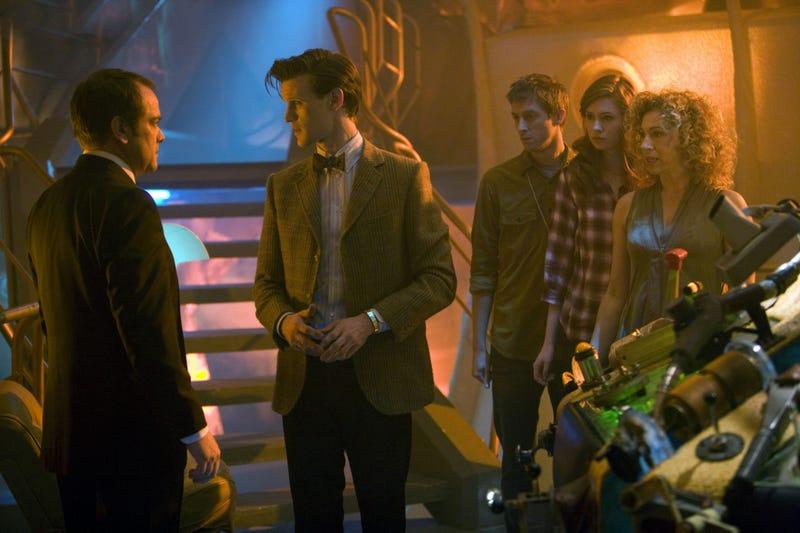 High Res Doctor Who promo photos