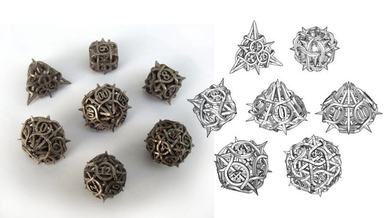 Thorn Dice, The Most Brutal Tabletop Dice In All The Land