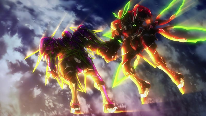 Valvrave's Second Season Is a Fun Yet Disturbing Twist on Gundam