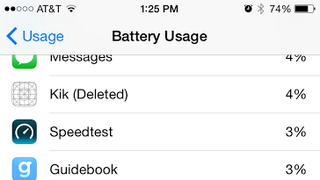 iOS 8 Battery Usage Reveals What Apps You've Been Using Even After You've Deleted Them