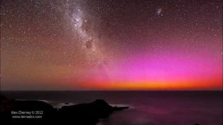 These Videos Of Colorful Lights In The Night Sky Are Just Breathtaking