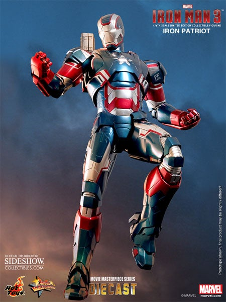 Iron Man 3 Isn't Called Iron Patriot 3, But At Least The Latter Gets His Own Amazing Action Figure