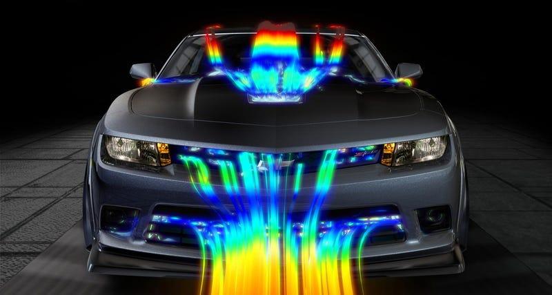 2014 Chevrolet Camaro Z/28 Is Designed For Downforce