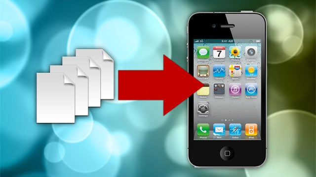 How to Sync Documents and Other Files to Your iPhone or iPad Without iTunes