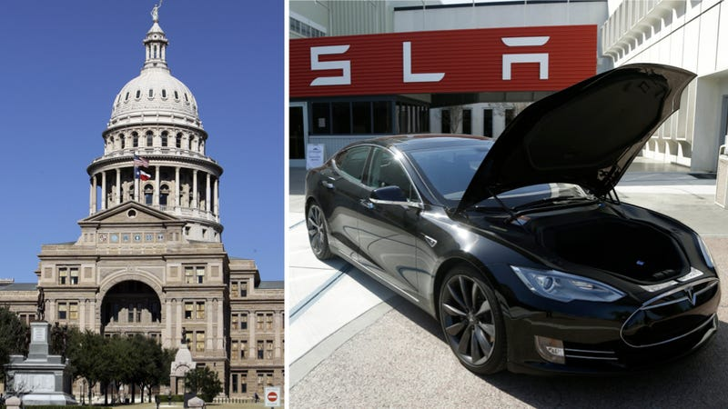 Texas Fails To Fix The 'Anti-Tesla Law' As Session Ends